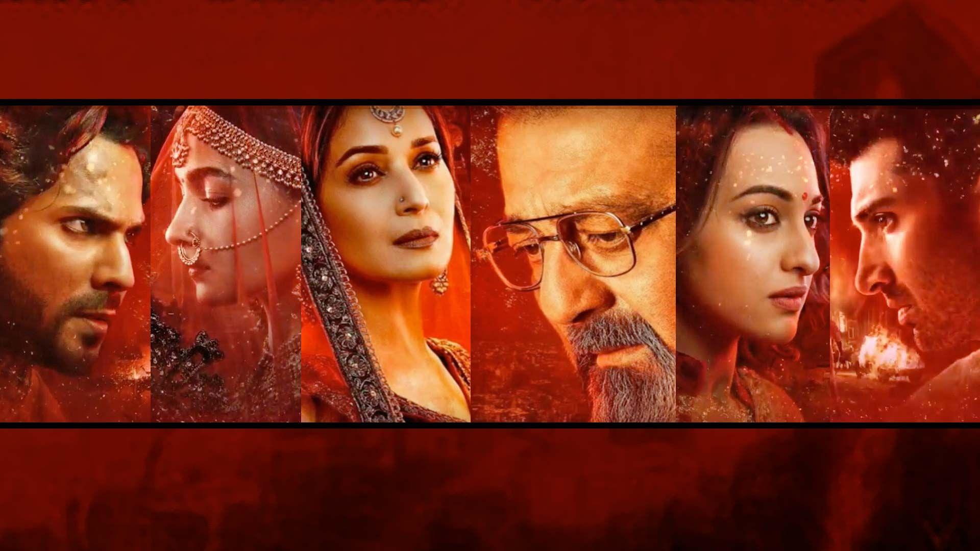 Madhuri Dixit & Sanjay Dutt's New Look From 'Kalank' Looks
